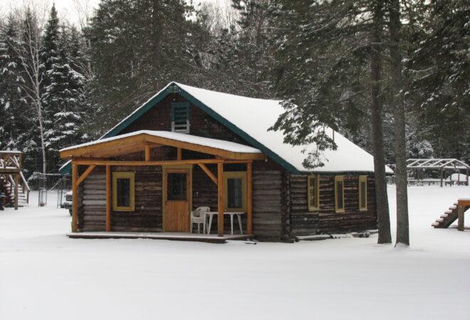 Chalet Bois Rond hiver