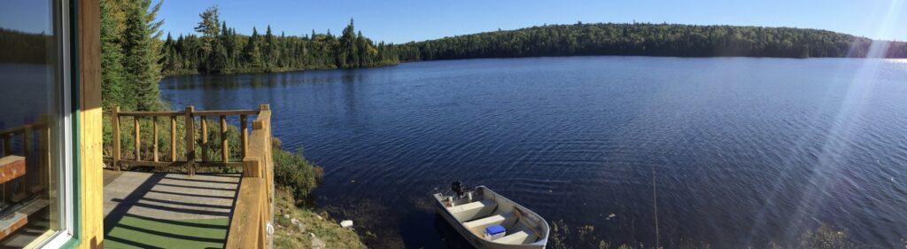 Territoire privé du Club Gatineau (Lac Mc Tiernan)